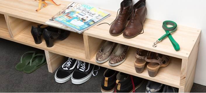 DIY: Shoe Rack